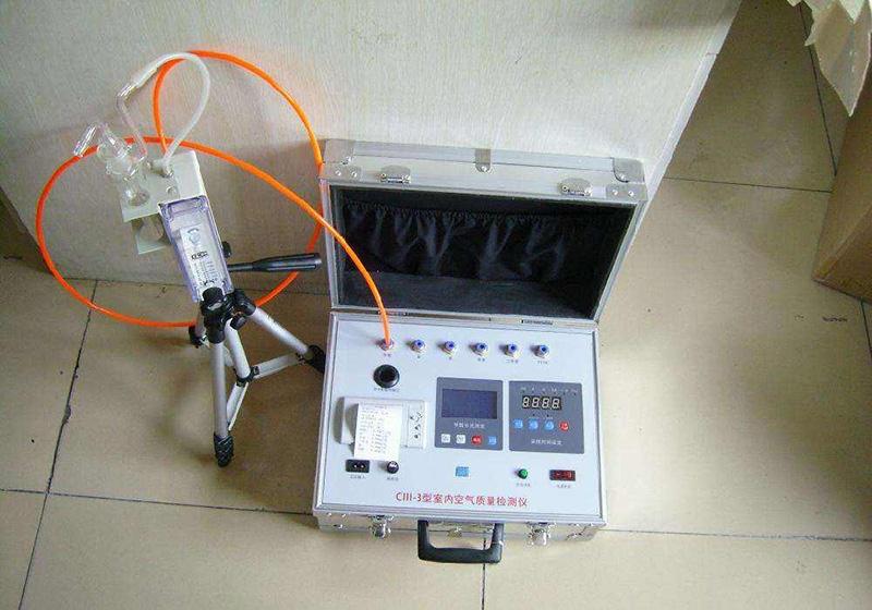 检测室内空气质量
