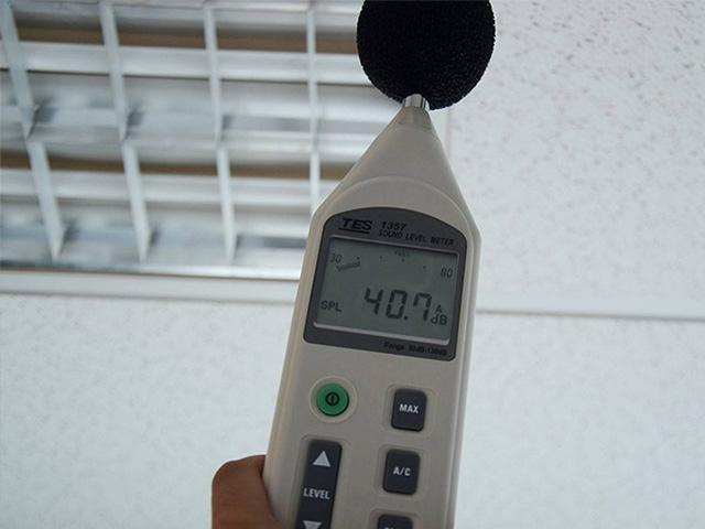 噪聲及振動檢測